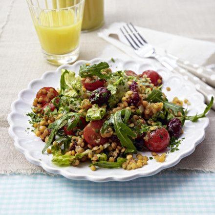 Rote-Linsen-Salat Rezept | LECKER