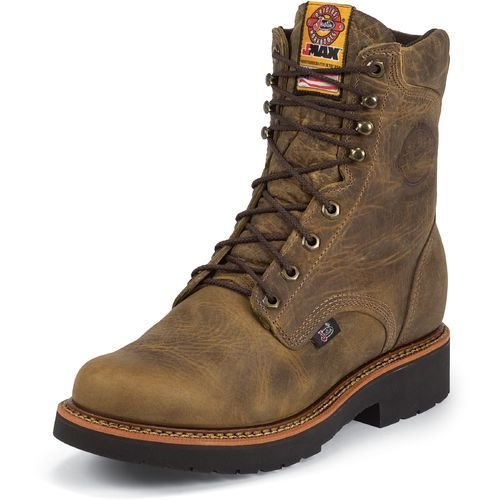 Justin Men's Rugged Gaucho Steel-Toe Work Boots