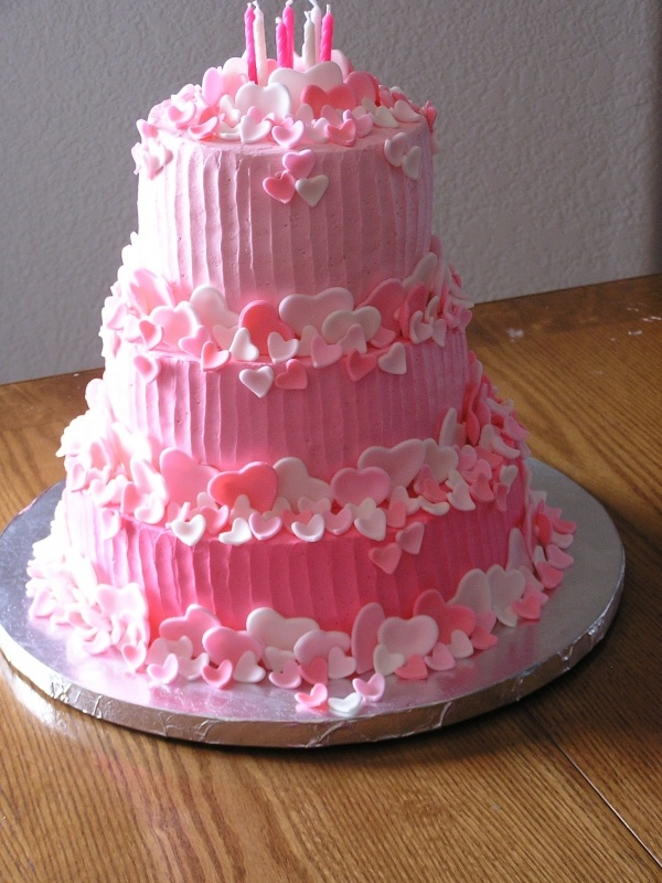 12 Best Valentine S Day Wedding Cakes Images On Pinterest