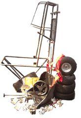 go kart kit, build your own go kart, go kart parts, off road go kart, electric go kart, go kart plans