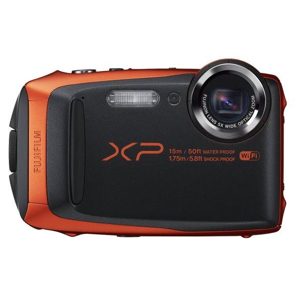 #Fujifilm FinePix XP90 #kaland és #vízálló #fényképezőgép  Bármilyen helyzetben nagyszerű képeket készít Négy szilárd védelmi funkció: vízálló 50 láb/15 m mélységig, fagyásálló 14 °F/-10 °C hőmérsékletig, ellenáll akár 5, 8 láb/1,75 m magasságból történő zuhanásnak, és porálló tulajdonságainak köszönhetően nem juthat az eszközbe homok vagy más idegen anyag. A fényképezőgép különböző kültéri körülmények között használható...