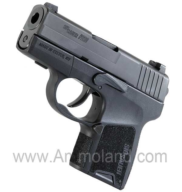 SIG SAUER P290 Sub-Compact 9mm Pistol  Now this might be a sweet concealed carry!