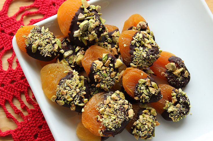 Dark Chocolate and Pistachio-Covered Apricots | Food and Nutrition Magazine | Stone Soup Blog