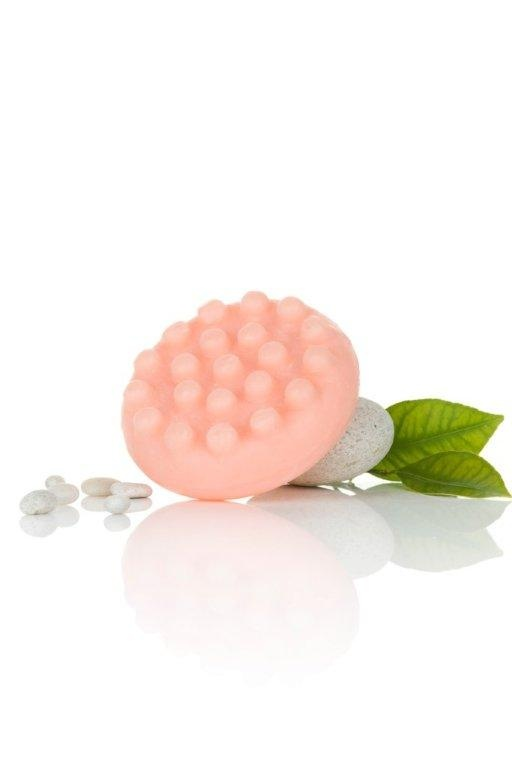 The #ShZen Pamplemousse Massage bar with massaging nodules to help stimulate circulation.  http://www.shzen.co.za/body_cellulite_control.php