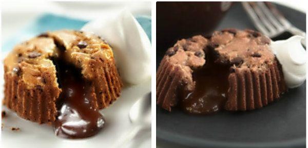 Molten Chocolate Surprise: Desserts Misc, Diy Desserts, Baller Recipes, Sweet, Dessert Recipes, Recipes Desserts, Desserts Cookies Snacks, Decorative Desserts, Molten Chocolate Cakes