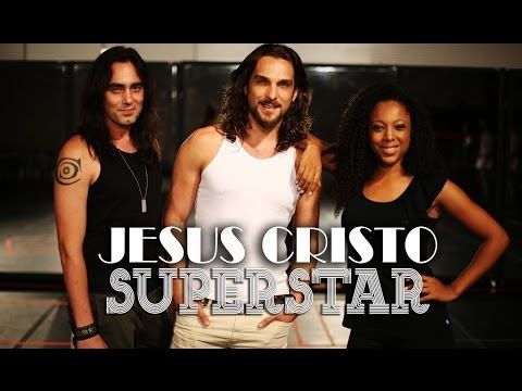 """Ensaio da versão brasileira do musical """"Jesus Cristo SuperStar"""""""