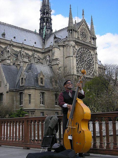Paris, Notre Dame: European Places, Dame Paris, Paris France Notre Dame, Street Musicians, Beautiful Places, Dame Cathedrals, France Paris, Paris Notre Dame, Musicians Performing