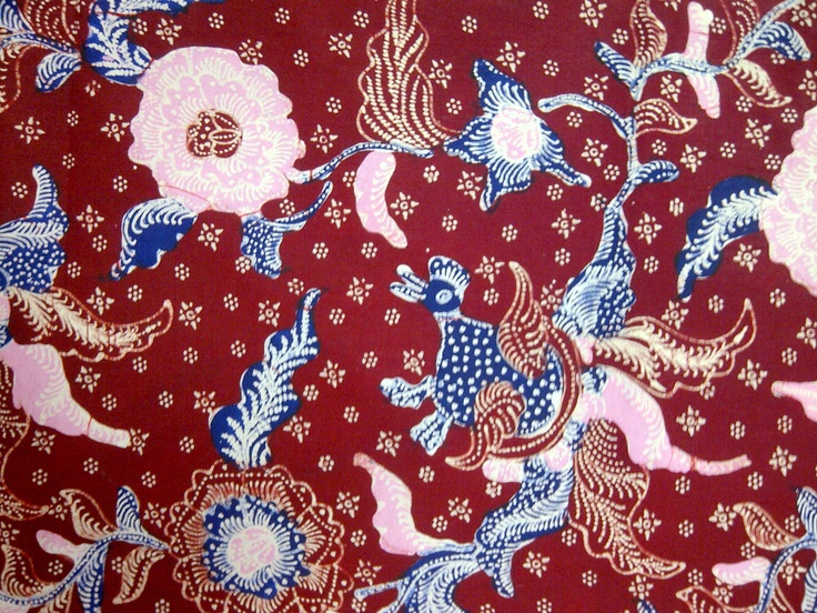 Beautiful Pattern of Javanese Batik
