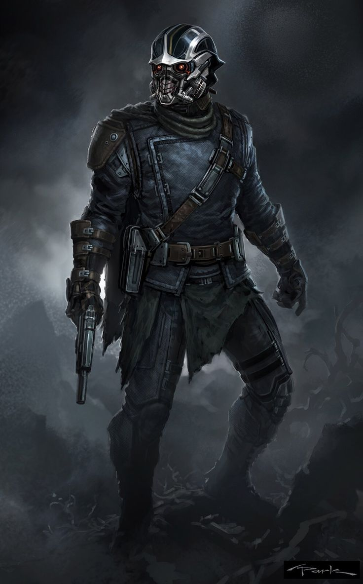 Star-Lord Concept Art - Andy Park