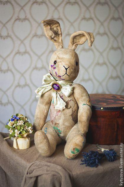 Мишки Тедди ручной работы. Ярмарка Мастеров - ручная работа заяц. Handmade.