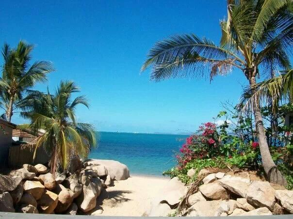 Paradise. A view from magnetic island Australia