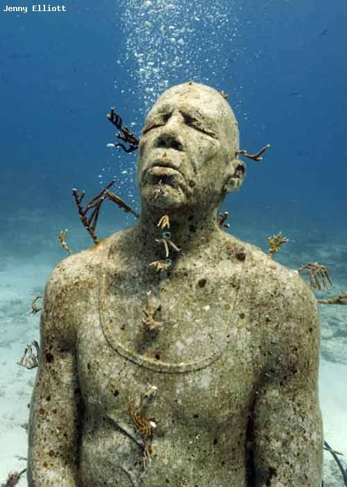 how to visit statues underwater in cancun