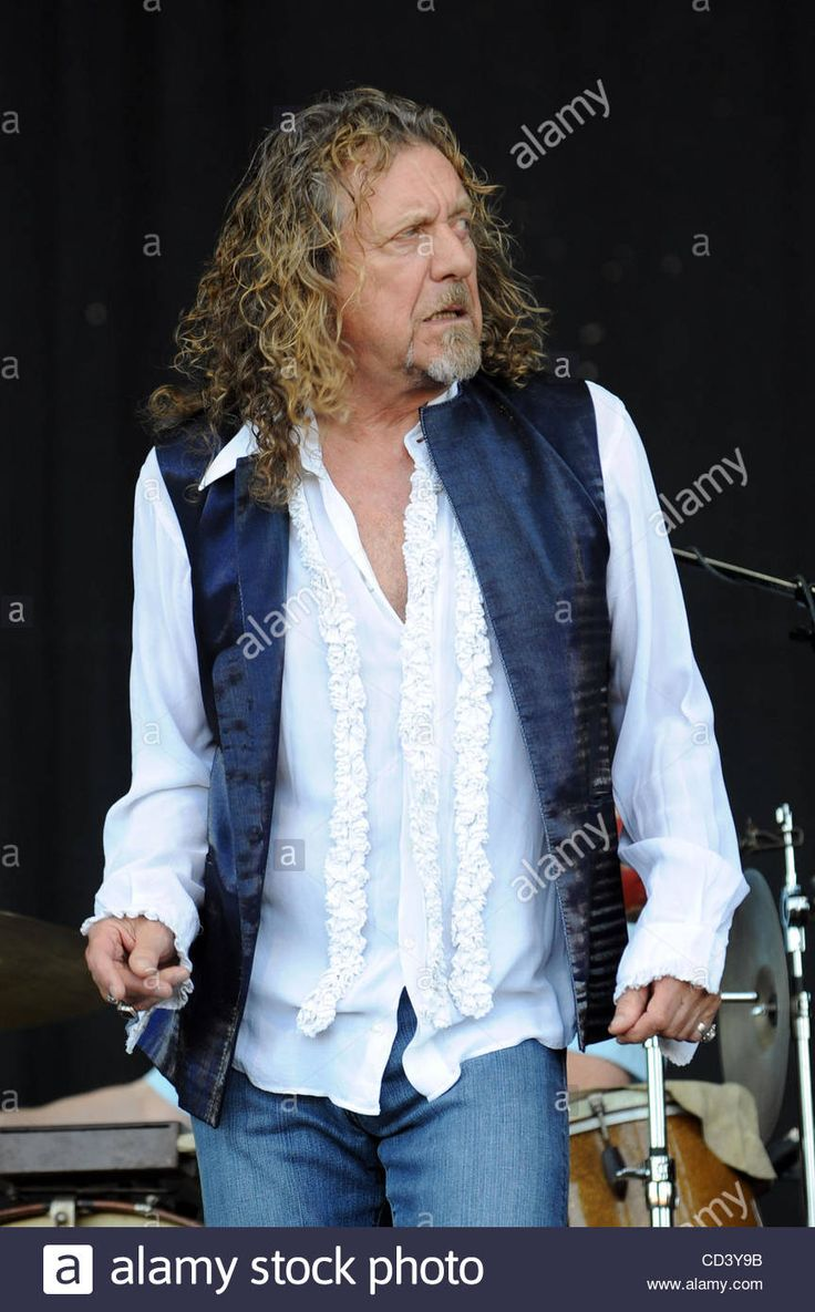 Jun 15, 2008 - Manchester, Tennessee, USA - Singer ROBERT PLANT performs live as there current 2008 tour makes a stop at The Bonnaroo Music and Arts Festival.