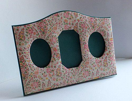 3 hole foto frame