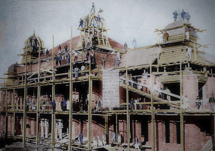 Kisújszállás városháza építése