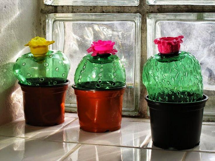 Φανταστική τέχνη και διακόσμηση από πλαστικά μπουκάλια | Φτιάξτο μόνος σου - Κατασκευές DIY - Do it yourself