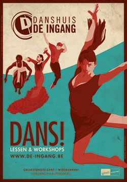 Danshuis De Ingang - Dansschool Gent, Danslessen, Afrikaanse dans, Argentijnse Tango, Burlesque, Bollywood, Flamenco, Indische dans, Lindy Hop, Oriëntaalse dans, buikdans, Salsa, Salsa Rueda, HipHop, Streetdance, reggaeton, ballet, charleston, break