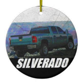 2013 Silverado 3500HD Crew Cab W/T 4x4 Ceramic Ornament