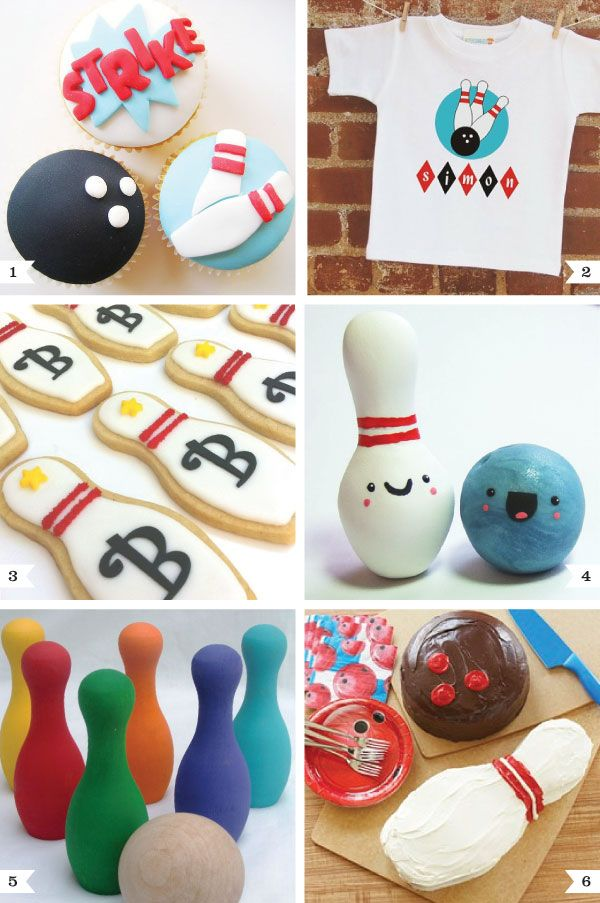 SPARE me please, these are way cool!  from http://www.chickabug.com/blog/category/party-themes/bowling