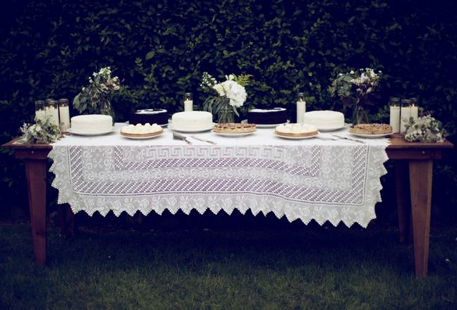dessert table // laura d'art