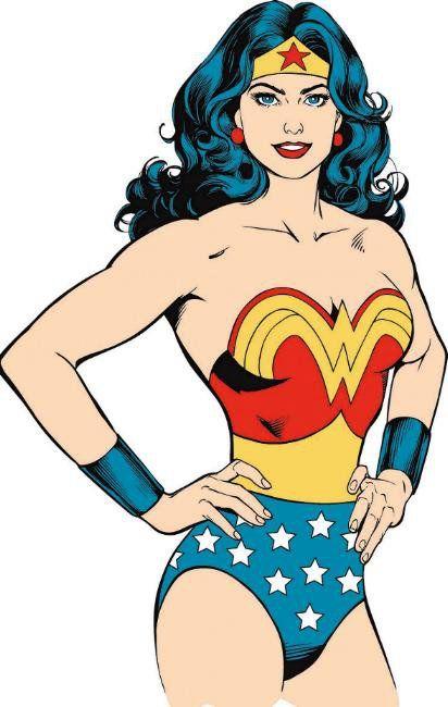 the wonderful incredible Wonder Woman