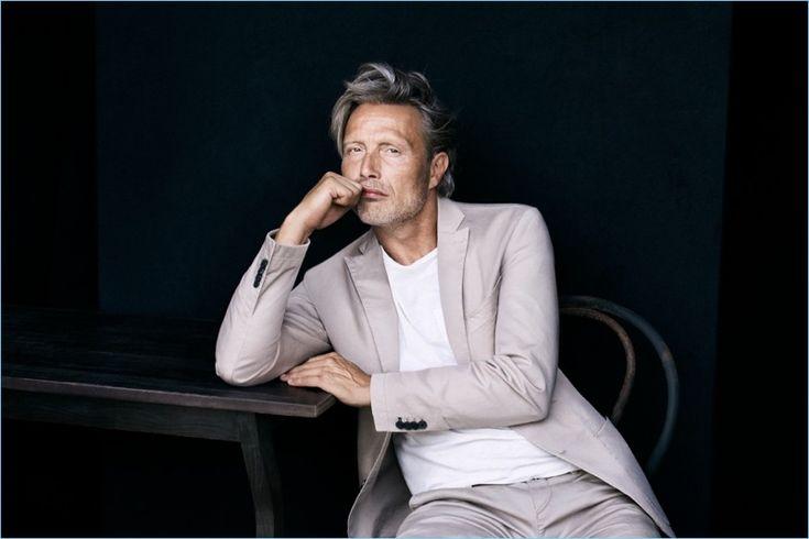 Mads Mikkelsen Returns For Marc O'Polo Spring '17 Campaign