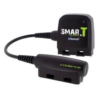 SMAR.T speed to rowerowy sensor prędkości Bluetooth 4.0 marki TEASI. Urządzenie umozliwia bezprzewodowe przesyłanie danych o prędkości i częstotliwości pedałowania bezpośredenio do urządzenia TEASI pro lub smartfon. Czujnik częstotliwości pedałowania montowany jest bezpośrednio za łożyskiem pedału, zaś czujnik prędkości zakładany jest na podporze łańcucha w pobliżu piasty.