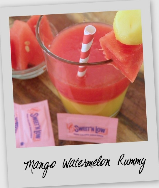 WATERMELON/MANGO RUM DRINK | Light or dark rum works well with this recipe. You can drink the ...