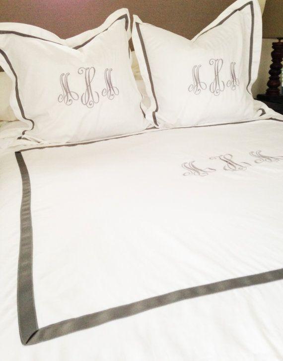Best 25 Monogram Bedding Ideas On Pinterest Asian Bedskirts Headboard And Pillows
