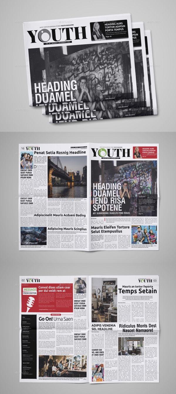 30 Professional Indesign Newspaper Templates Indesign Newspaper Template Newspaper Template Newspaper Template Design