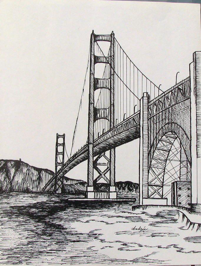 Картинки мостов для срисовки