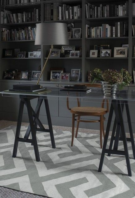 Creative workplace! Layered's Meander rug has a meander pattern. This is a decorative border that is constructed from a continuous line, shaped into a repeated motif. Designed in the admiration of this traditional symbol, this is a bold play with this classical pattern. Free worldwide shipping. See more at: http://layeredinterior.com/product/meander/#sthash.OqetfRrI.dpuf