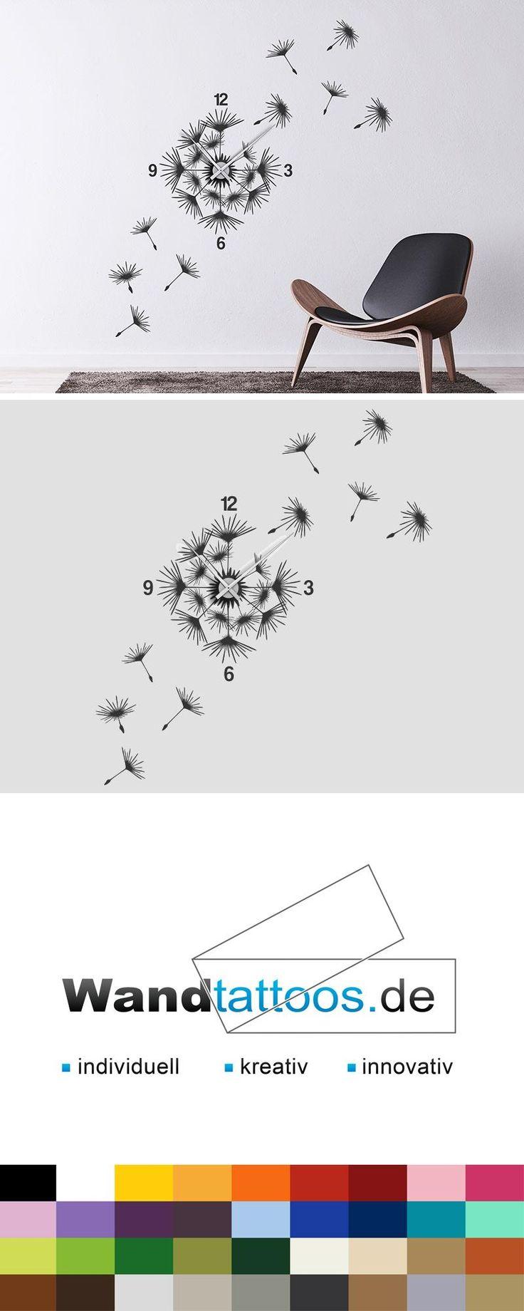 Die besten 25 wandtattoo pusteblume ideen auf pinterest - Idee fa r wandgestaltung ...