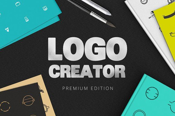 The Extensive Logo Creator by DesignDistrict on @creativemarket