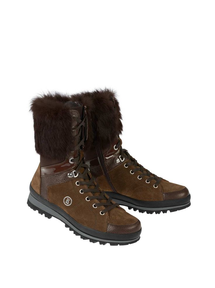 discount fashionable clearance factory outlet Bogner Ankle boots in 100% leather with faux fur trim discount eastbay cheap sale find great VU6SbO