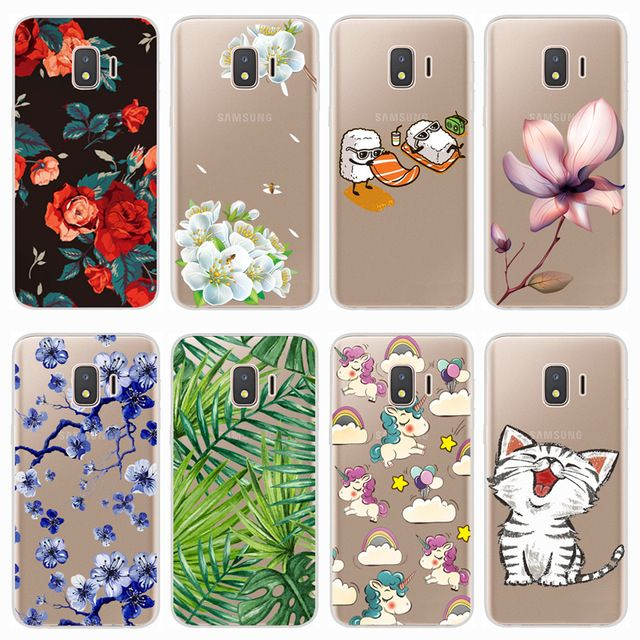 Soft Case For Samsung Galaxy J2 Core 2018 Case Colorful Printing Silicone Phone Back Cases Cover For Samsung J2 Core 2018 J260f Cute Cases Soft Silicone Galaxy
