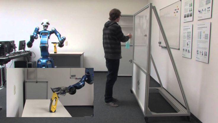 Towards Intelligent Compliant Service Robots. Rollin' Justin bot.