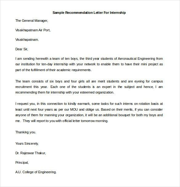 Reference Letter For Interns from i.pinimg.com