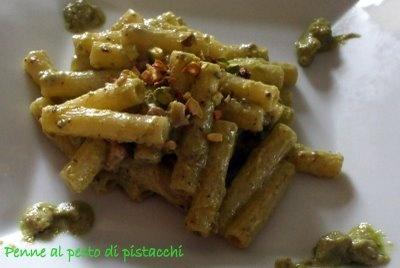 Sale Marino: Penne al pesto di pistacchi