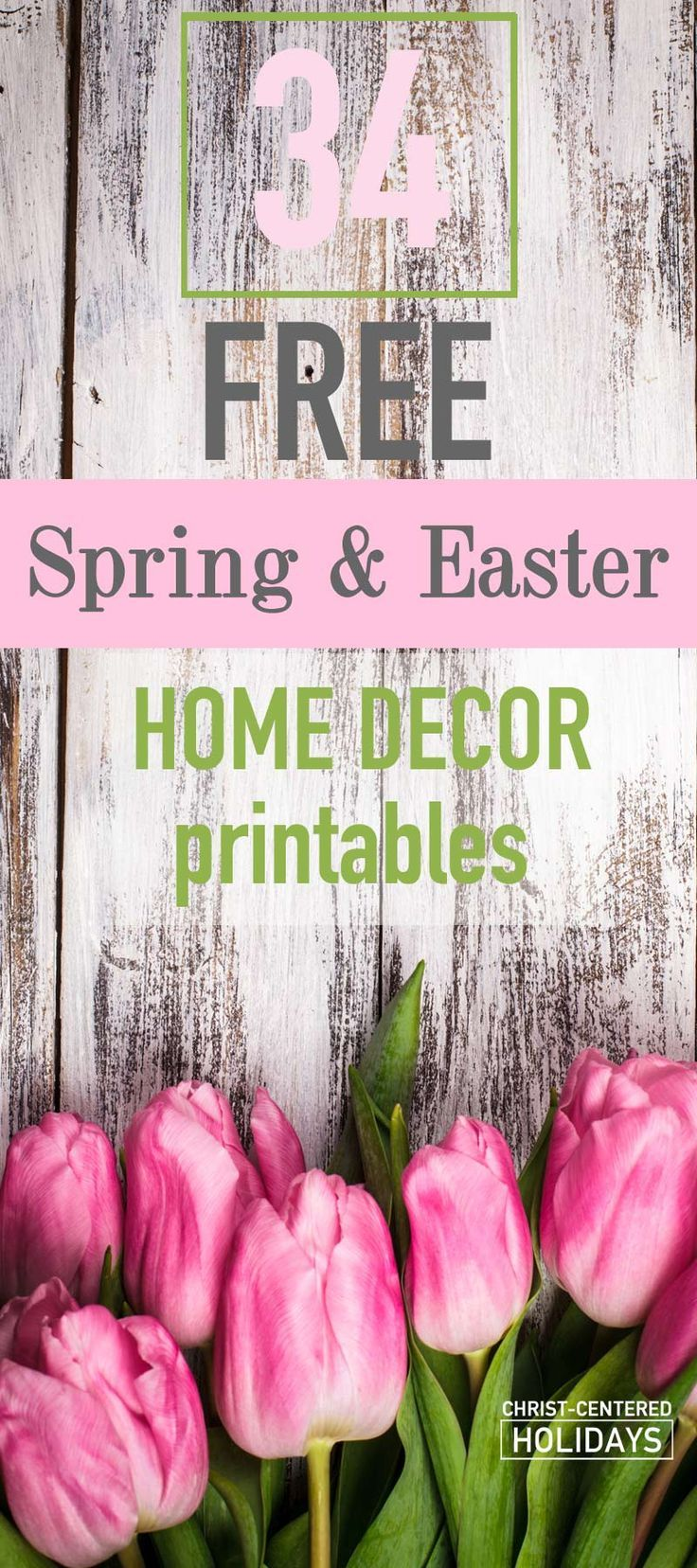 30 Free Easter Home Decor Printables Easter Wall Art Spring