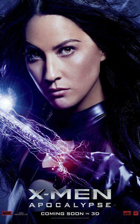 'X-Men: Apocalypse' (2016) Character Poster, Olivia Munn