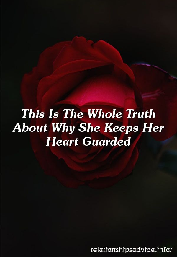 being guarded in relationship