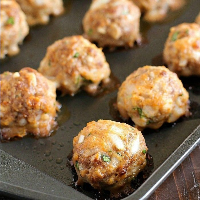 Baked Meatballs that are some of the best ever meatballs in the history of all meatballs! Such a simple and easy meatball recipe. Very tender and flavorful!