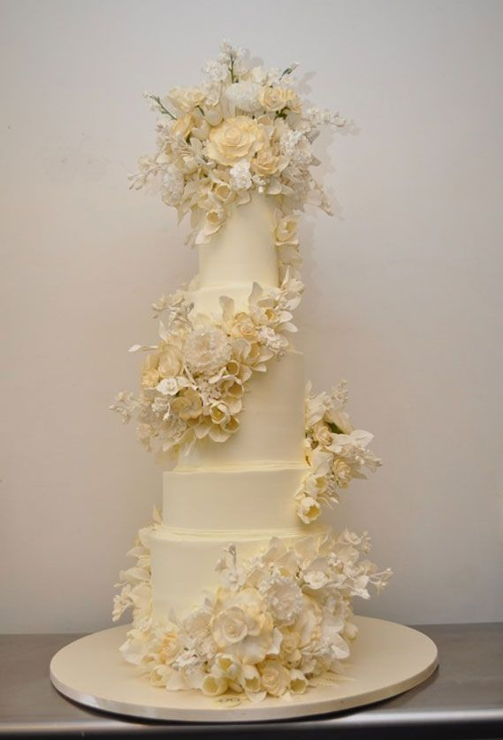 silvia weinstock | Sylvia Weinstock created a four foot tall ... | Celebrity Wedding Cak ...