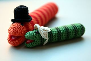 Slimey the Worm Amigurumi - Free Pattern - PDF File