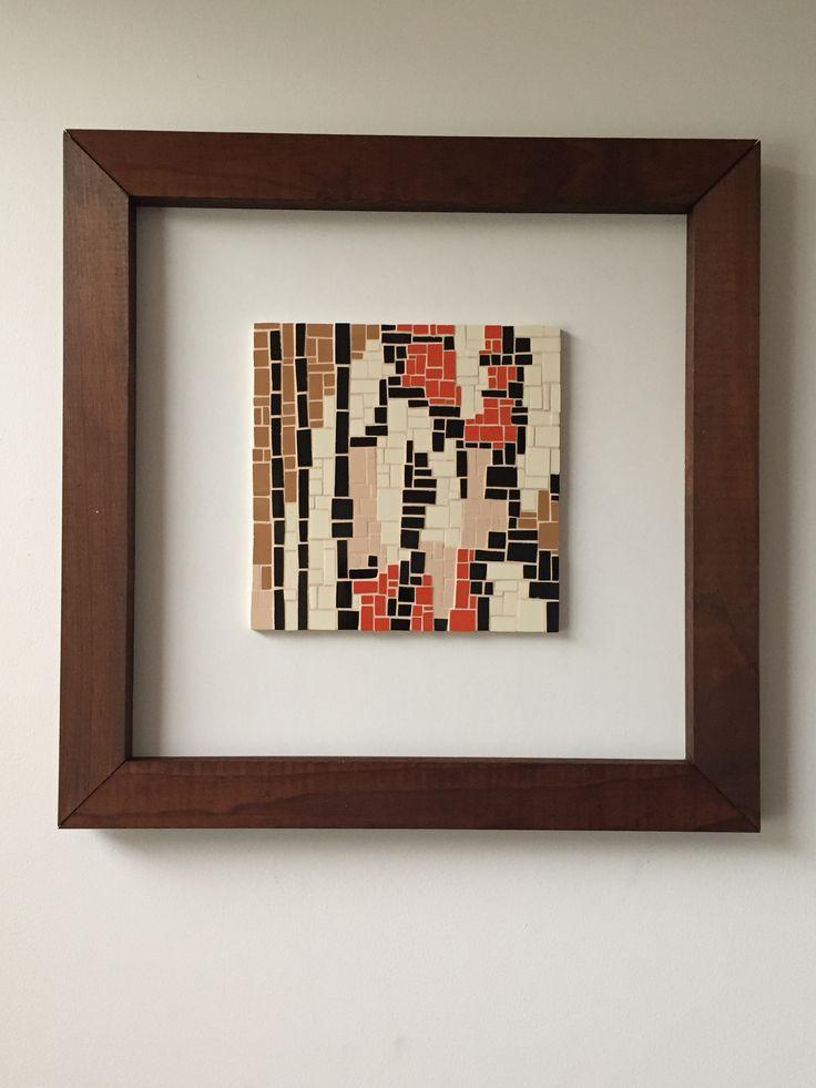 Mosaic wall art Fernanda Elortegui