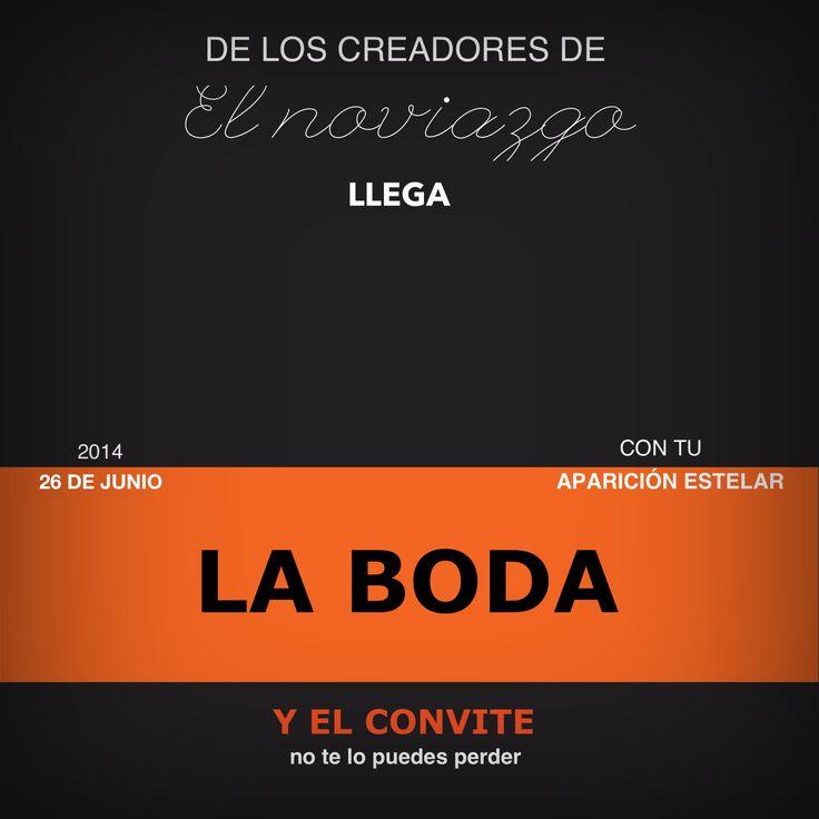 #Boda de #cine