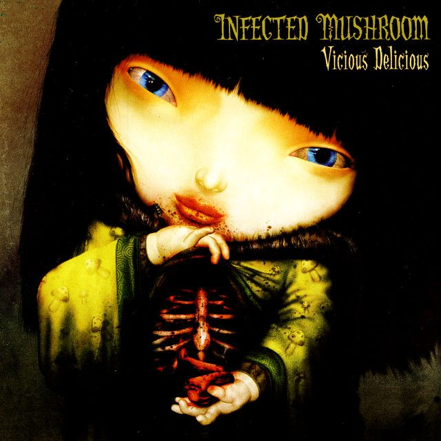 """""""Becoming Insane"""" by Infected Mushroom was added to my Starred playlist on Spotify"""