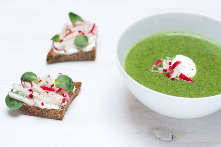 home office lunch recipe radish leaf soup