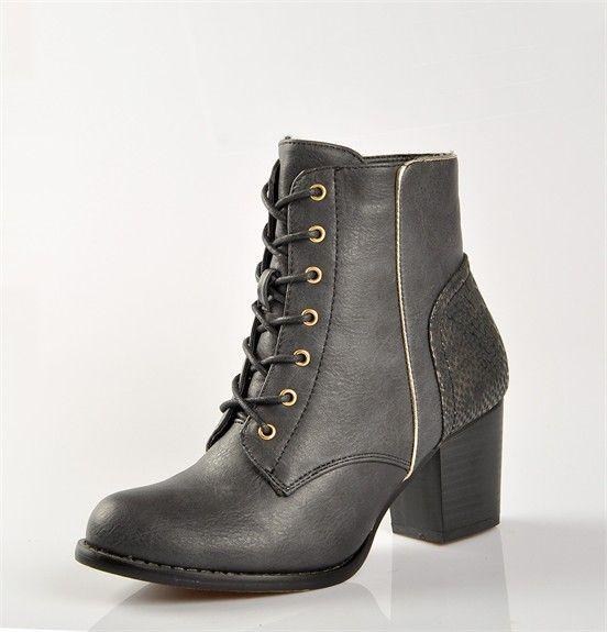 Chaussures FEMME - BOTTINES NOIR - VICE VERSA - Chaussures Desmazieres